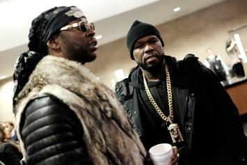 50 Cent Backs Off Clowning Atlanta Out Of Respect For 2 Chainz