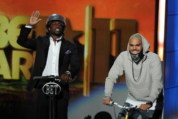"Kevin Hart Praises Chris Brown For His Live Performance On ""HBOAFM"" Tour"
