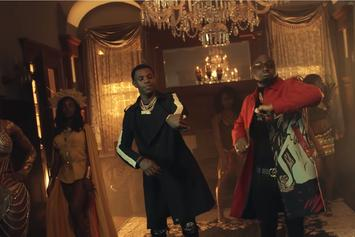 "A Boogie Wit Da Hoodie & Davido Feign Death In ""Way Too Fly"" Video"