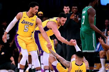 """Kyle Kuzma Upset With His NBA 2K Rating: """"Y'all Will Learn Though"""""""