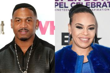 Stevie J Gets His First Face Tattoo For Faith Evans