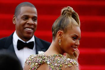 Jay-Z & Beyonce Get A Standing Ovation For Leaving A Restaurant After Eating