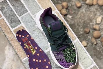 "Dragon Ball Z x Adidas Prophere ""Cell"" New Images"