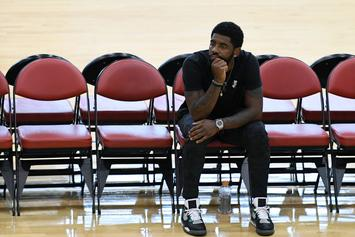 "Kyrie Irving Ready For Celtics Camp After ""Long F*cking Two Months"""