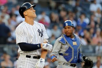 """Yankees Fans Hold """"Candlelight Vigil"""" Following Aaron Judge Injury"""