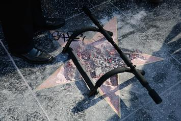 A Chunk Of Donald Trump's Walk Of Fame Star Is Being Sold On Ebay