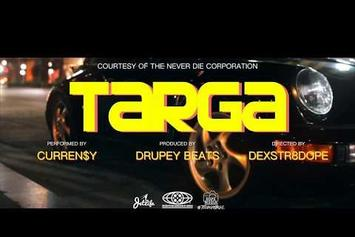 """Curren$y's """"Targa"""" Video Sets The Tone For """"Fire In The Clouds"""""""