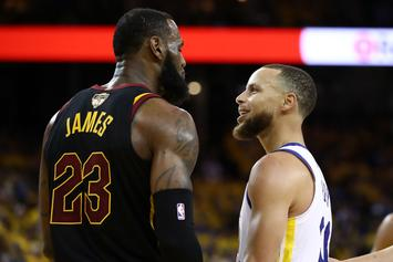 """Steph Curry: Trump's Tweets To LeBron """"Based In Racism"""""""