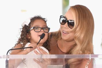 Mariah Carey Relaxes With Her Mini-Me On Yacht Before Vegas Residency