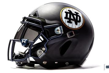 "Notre Dame Football Unveils Yankees-Inspired ""Shamrock Series"" Uniforms"