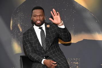 """50 Cent Shares Theory On Who Shot Up """"Get The Strap"""" Video Set"""