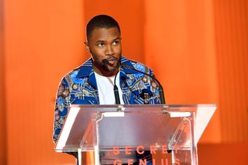 "Frank Ocean's Mother Receives His Platinum Plaque For ""Blond"""