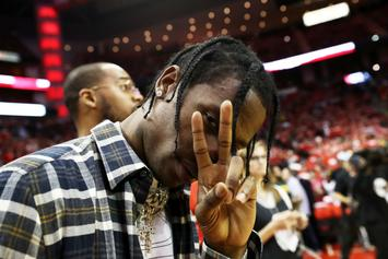 Travis Scott Reveals Paris Saint-Germain x Jordan Basketball Jersey