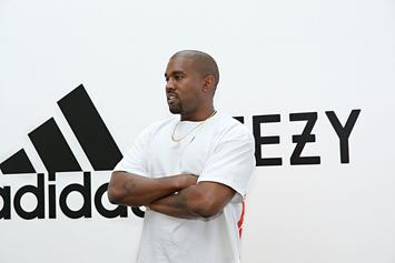 """Kanye West Teases New """"Glow In The Dark"""" Yeezys"""