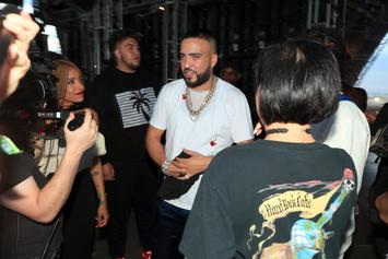 French Montana's Pool Boy Reportedly Sues After Dog Bite