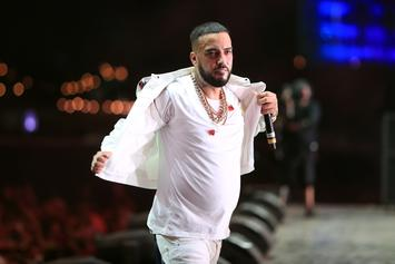 French Montana Bets Diamond Watch During Ping-Pong Match Against Tommy Hilfiger