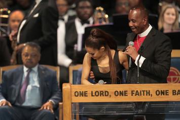 Ariana Grande Gets Apology From Bishop For Groping Incident