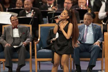 "Twitter Slut-Shames Ariana Grande For ""Skimpy"" Dress & Calls Bill Clinton Thirsty"