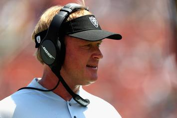 "Jon Gruden Throws Raiders' GM Under The Bus: ""It Wasn't My Goal To Trade Khalil"""