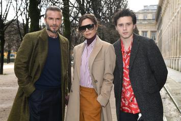 Victoria & David Beckham Model With Their Kids For Vogue Cover