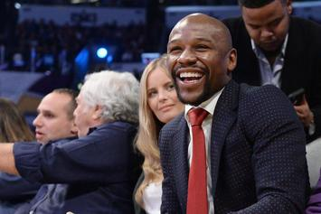 Floyd Mayweather Responds To 50 Cent's Illiteracy Meme