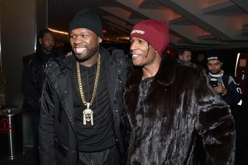 50 Cent Trolls A$AP Rocky For His Semen Filled Prison Fight Story