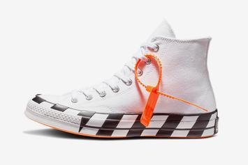 Off-White x Converse Chuck 70 Release Details Announced