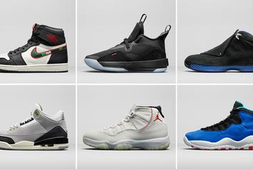 Jordan Brand Reveals 2018 Men's Holiday Preview