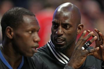 """Kevin Garnett Weighs In On Timberwolves: """"It's a Shit Storm Up There"""""""