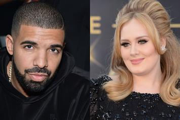 "Drake Is ""SHOOK"" By Adele's Presence At Concert: ""I Love This Woman"""