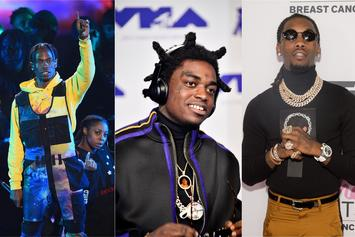 "Top Tracks: Kodak Black, Travis Scott & Offset's Tropical ""Zeze"" Debuts Strong"