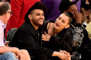 "Bella Hadid Shares Intimate Birthday Moments With Her ""Baby"" The Weeknd"