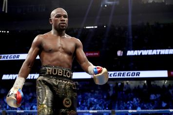 "Floyd Mayweather On Khabib Nurmagomedov Fight: ""We Can Make It Happen"""