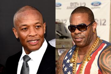 "Dr. Dre Caused Busta Rhymes Album Delay: ""Welcome To Aftermath, N*gga"""