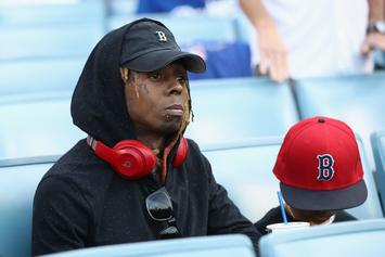 "Lil Wayne Celebrates Red Sox World Series Championship: ""Yankees Sukk"""
