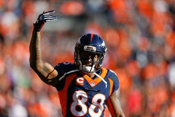"""Broncos' Demaryius Thomas Says It's """"50-50"""" He'll Be Traded"""