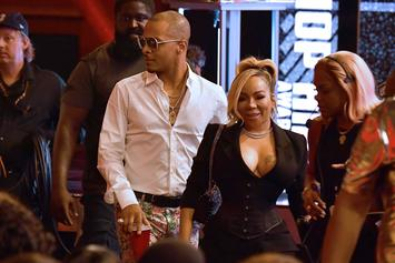 """Tiny Gets Frustrated With T.I.'s Anniversary Trip Invite On """"Family Hustle"""""""