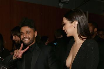 """The Weeknd Sports """"Blame Bella"""" Gear After Scrapping LP"""