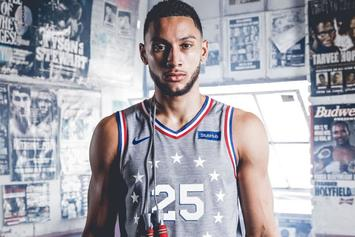 "Sixers ""City Edition"" Uniforms Inspired By Rocky & Creed: Official Images"