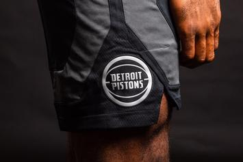 "Detroit Pistons Reveal ""Motor City"" Uniforms To Be Worn In 18 Games"