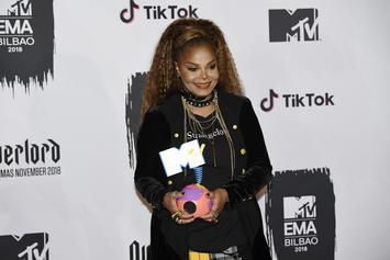 "Janet Jackson Stands For Women Who've ""Been Stifled"" In Powerful EMA Speech"