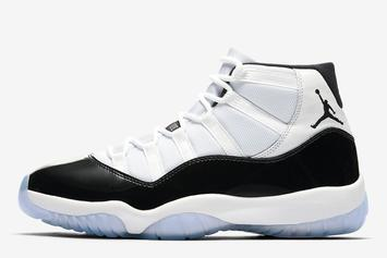 "Air Jordan 11 ""Concord"" Official Images Revealed"