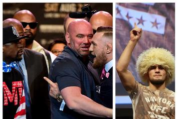 Dana White Tells Floyd Mayweather: Fight Khabib In UFC Or Bug Off