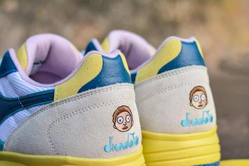 Rick And Morty x Diadora Sneaker Collab Revealed