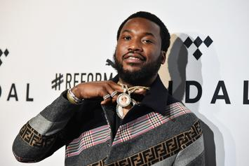 "Meek Mill & Tierra Whack Link Up In Studio: ""A Goat & Baby Goat"""