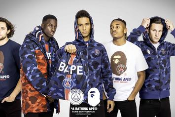 BAPE x Paris Saint-Germain Capsule Collection Unveiled