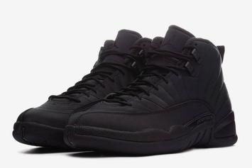 "Winterized ""Triple Black"" Air Jordan 12 Release Date Announced"