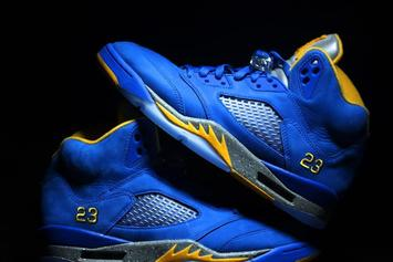 "Two New ""Laney"" Air Jordan 5s Coming Soon: New Images"