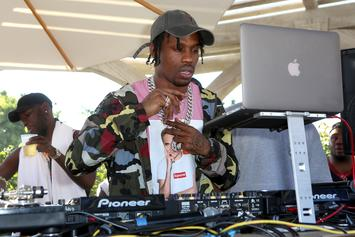 "Travis Scott Revels Over Meeting With ""MBDTF"" Artist George Condo"
