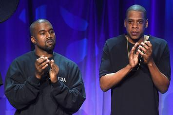 """Jay-Z Addresses Kanye West & His """"Red Hat"""" On Meek Mill's """"Championships"""""""